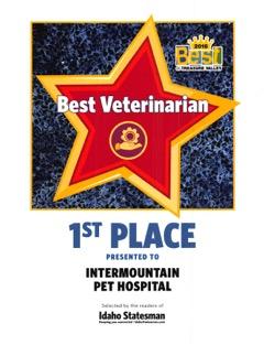 2016 Best Veteranarian Best Of Treasure Valley